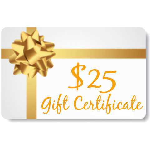 Gp Market Gift Certificate For 25 Gift Certificates