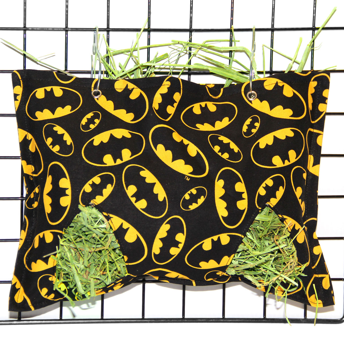 Heavenly hay bag soft hay bags sacks for Celestial fleece fabric