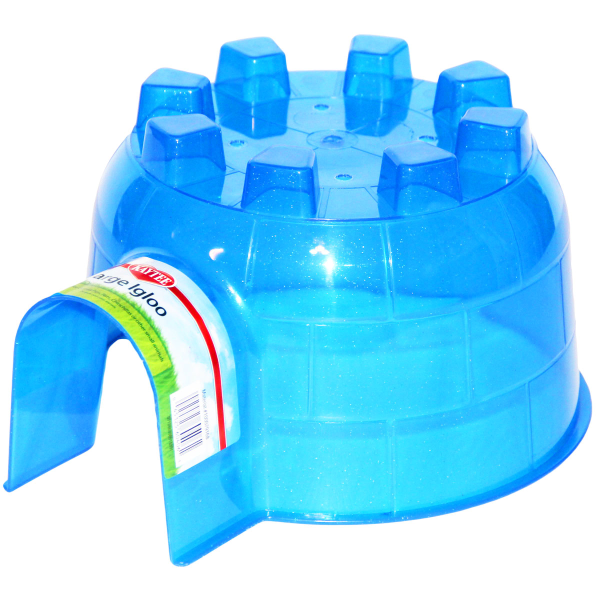 Plastic pigloos igloos for guinea pigs for Where to get c c cages