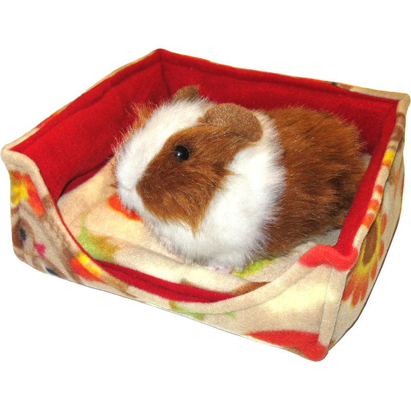 Clearance Luxury Square Beds Cozies For Guinea Pigs In