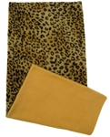 Fleece Flipper?? Case only-show both sides-Leopard