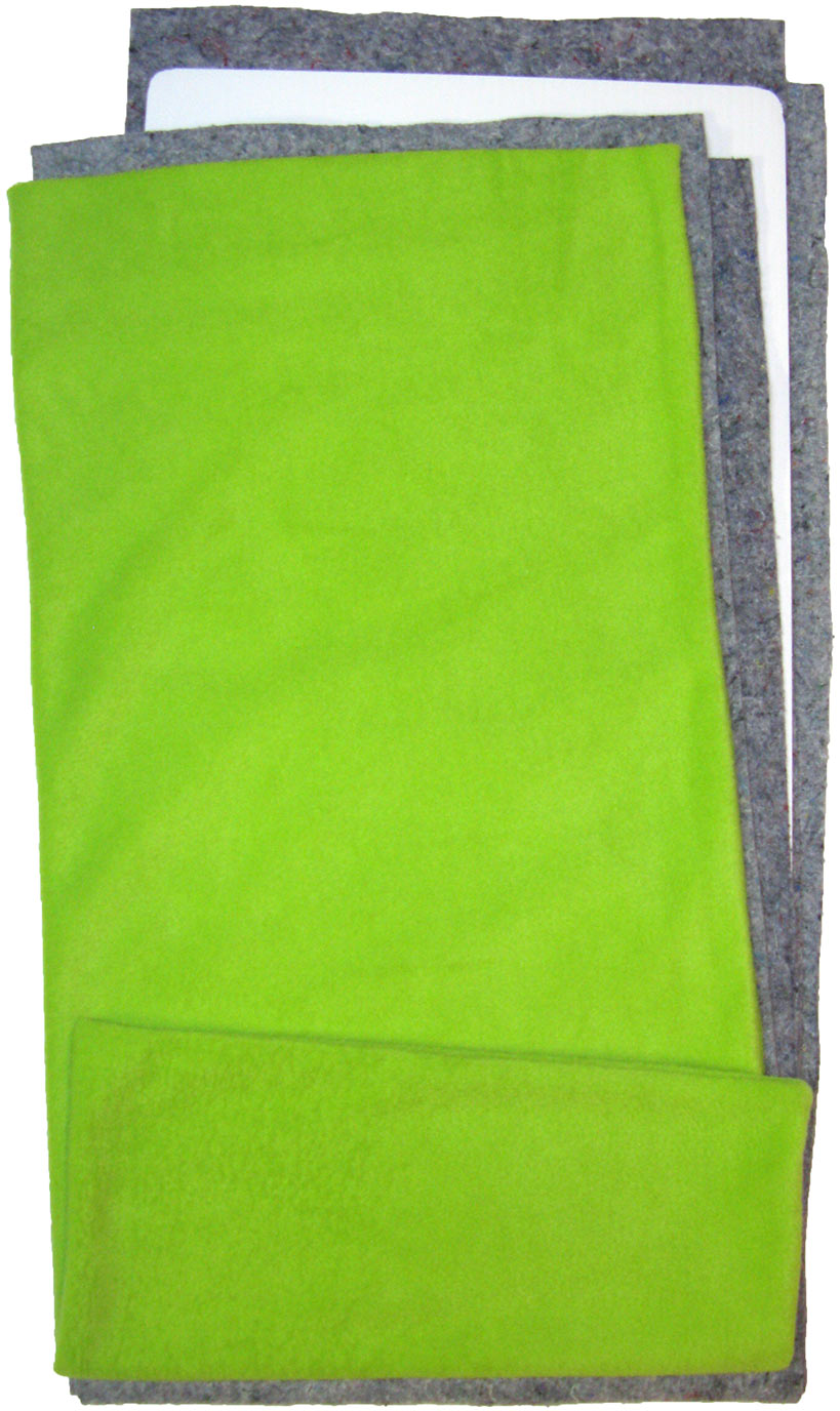 Fleece Flippers Lime Green