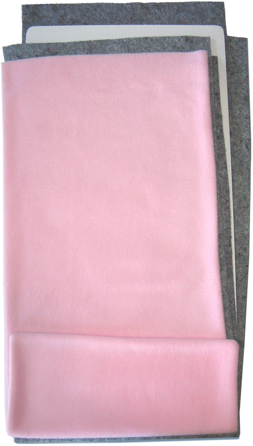 Fleece Flipper in Solid Pink