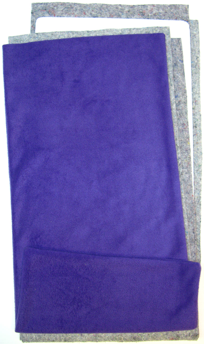 Fleece Flippers in Purple