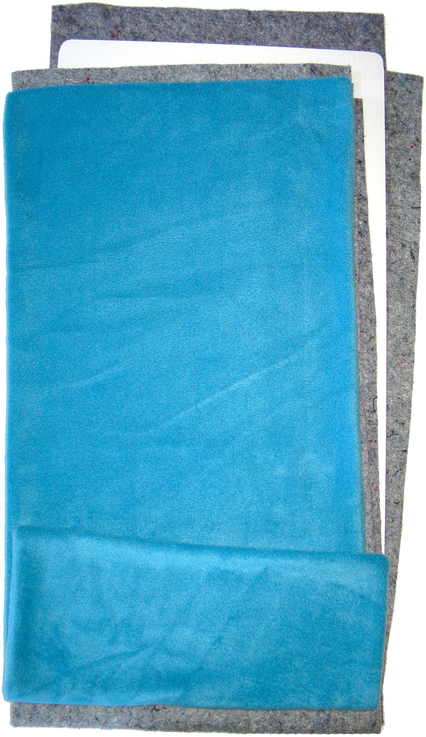 Fleece Flipper in Solid Turquoise