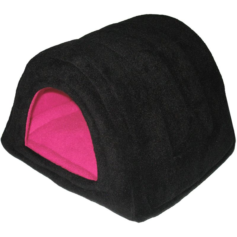 Hidey Hut in Black/Fuschia