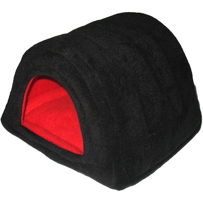 Hidey Hut in Black/Red