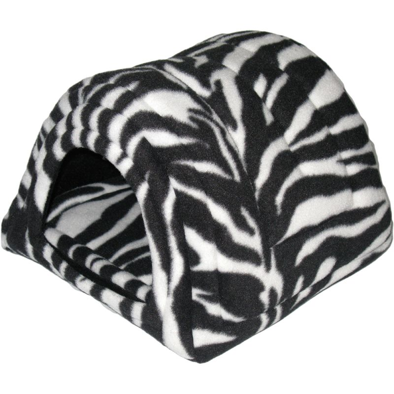 Hidey Hut in Zebra