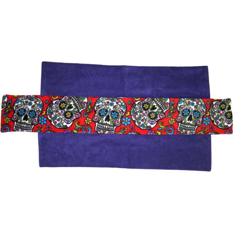 Ramp Cover in Sugar Skulls on Red
