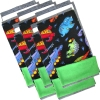 Set of 5 Fleece Flippers in our Tossed Dinos fabric