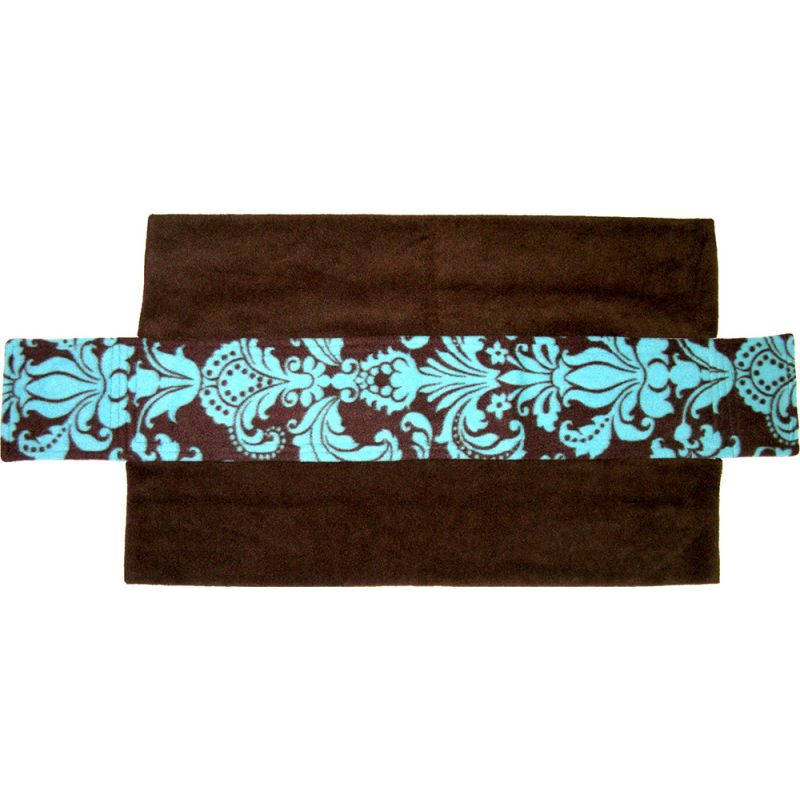 Ramp Cover in Blue Damask