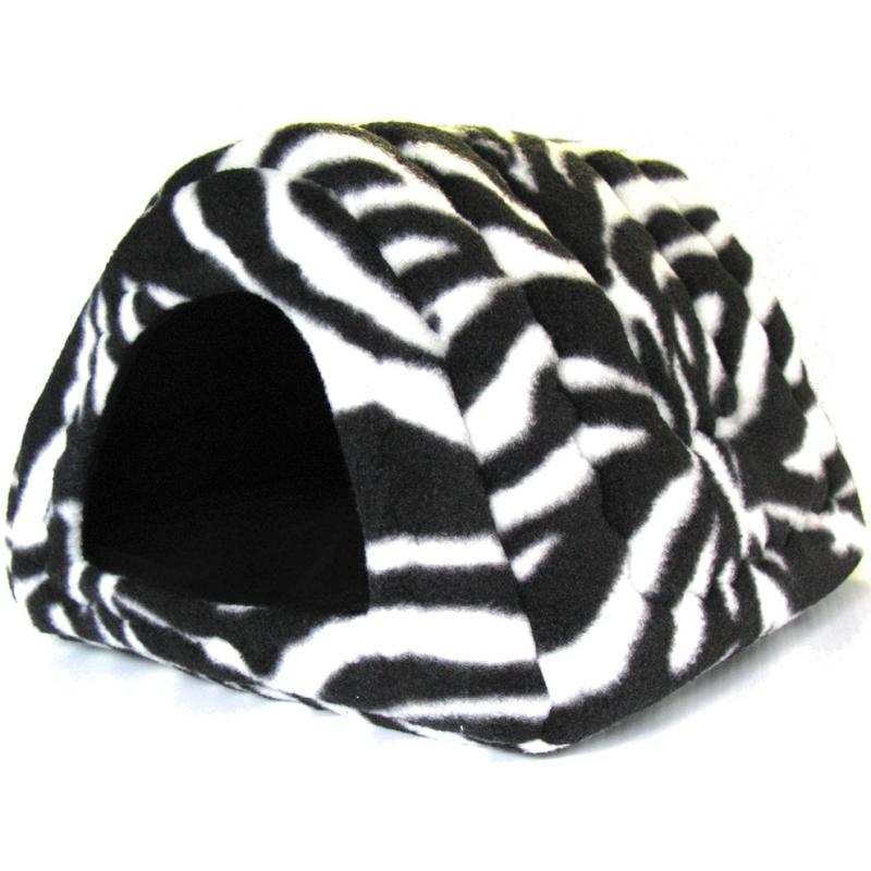 Hidey Hut in Zebra