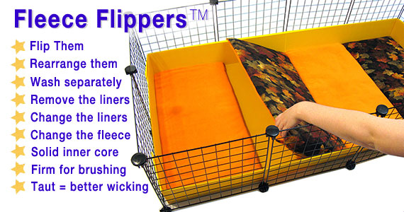 Features of Fleece Flippers