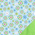 Blue Daisies Fabric