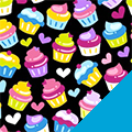 Cupcakes Fleece Fabric