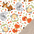 Forest Friends Fleece Fabric