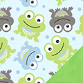 Frogs Fleece Fabric