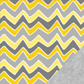 Funky Chevron Fleece Fabric