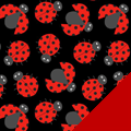 Ladybugs Fleece Fabric