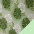 Floral Mint Fleece Fabric