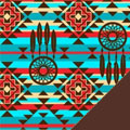 Native American Fleece Fabric