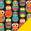 Owls Fleece Fabric
