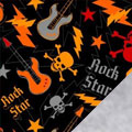 Rock Star Fleece Fabric