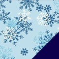 Snow Kissed Fleece Fabric