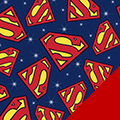 Superman Fleece Fabric
