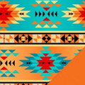 Tribal Fleece Fabric