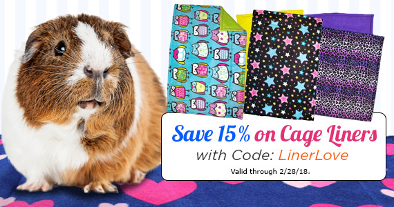 Save 15% on Cage Liners