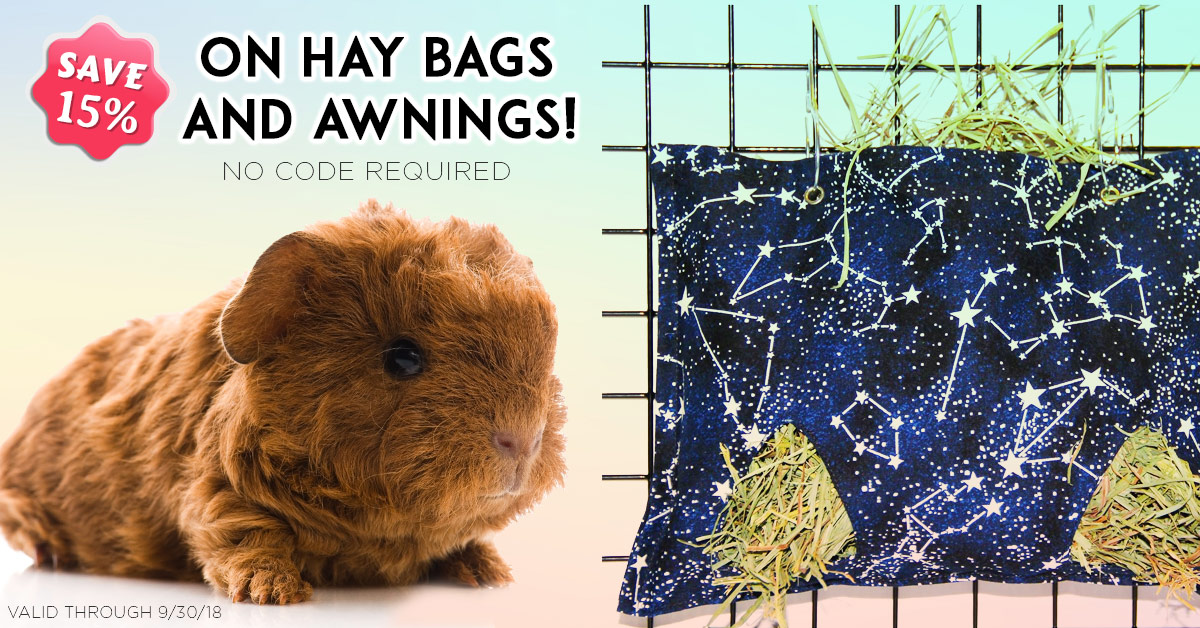 Save 15% on Hay Bags