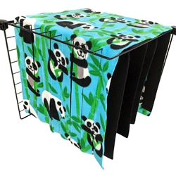 Fleece Forest in Pandas