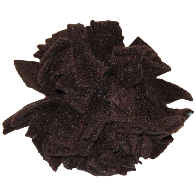 Fleece Puff in Brown