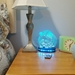 Guinea Pig Ornate Night Light, Happy Hippy Piggy Lamp