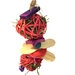 Spinwheel snacker toy for guinea pigs and small pets