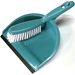Teal Dustpan and Whiskbroom Set