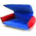 Flippin' Fun Futon! - Blue with Red Arms