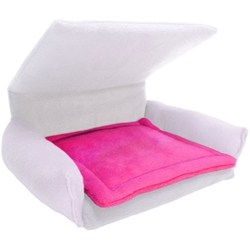 Flippin' Fun Futon Potty Pad in Fuschia