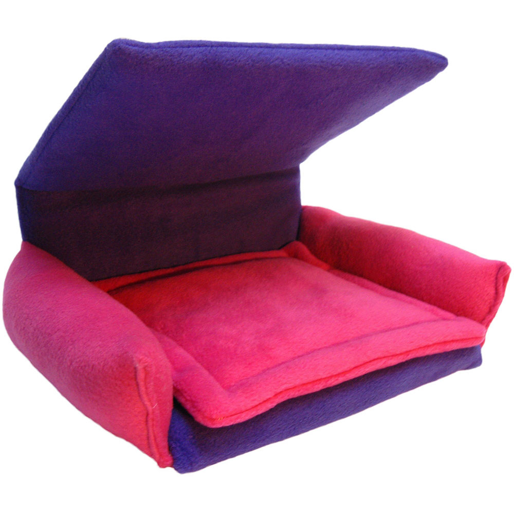 Flippin Fun Futons Flexible And Reversible Fleece Chair