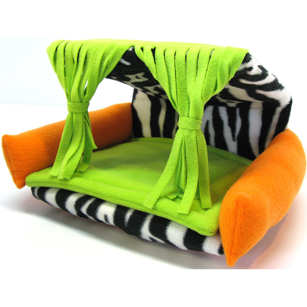 Flippin Fun Futons Flexible And Reversible Fleece Chair