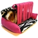 Flippin' Fun Futon! - Zebra with Pink Fringe