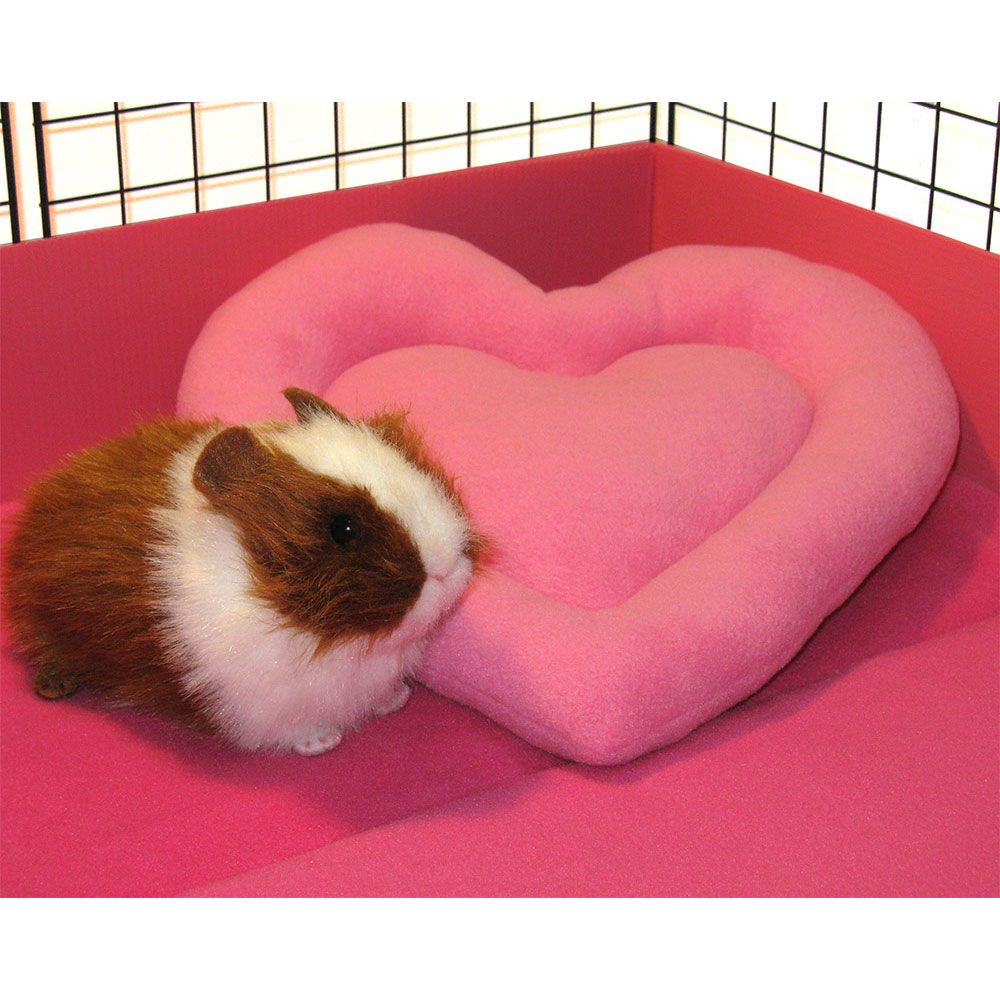 Pink heart with piggie