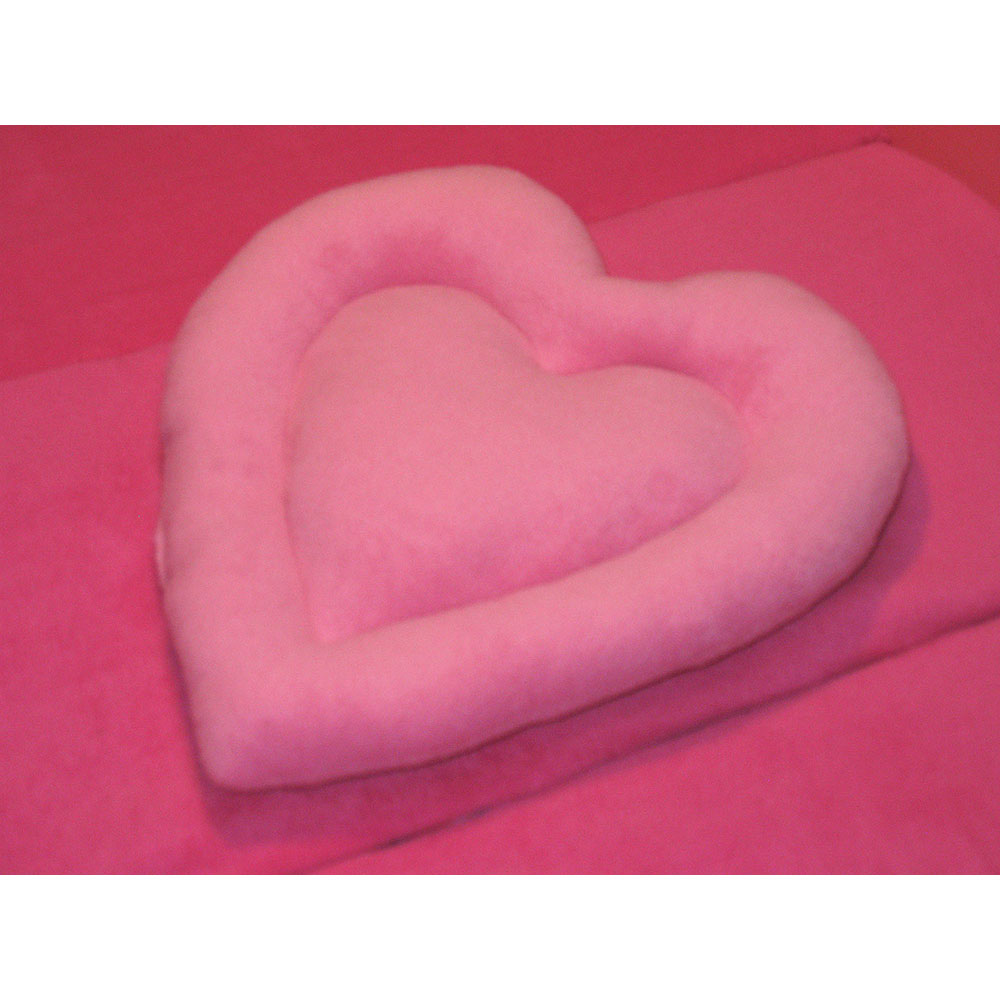 Pink on pink heart