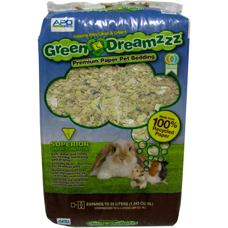 Green Dreamzzz Paper Bedding - 44L