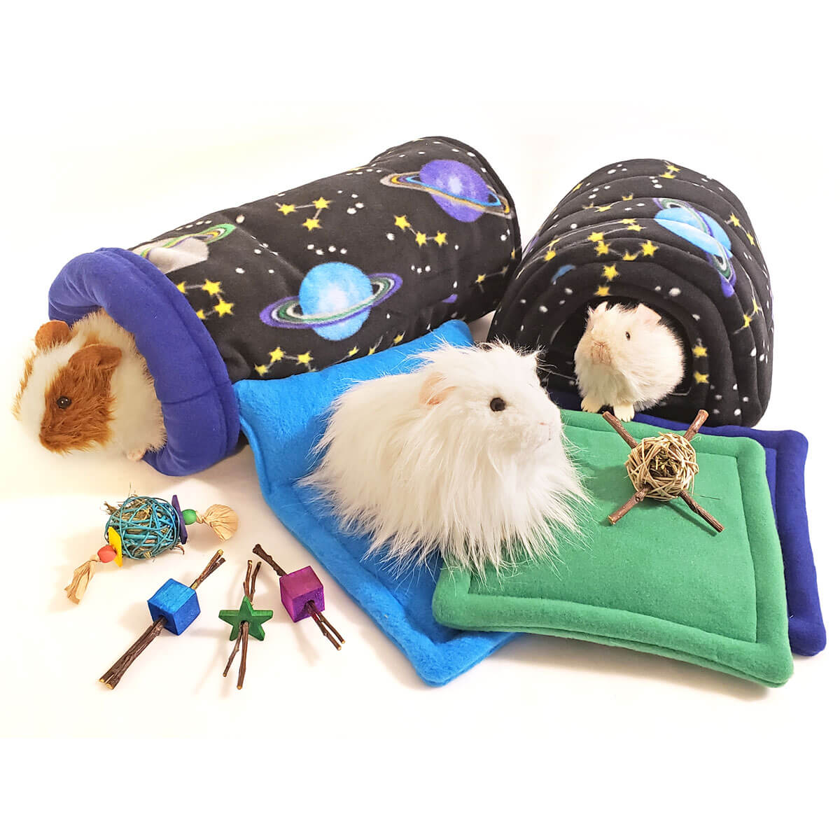 Stargazer Bed and Treat Bundle for Guinea Pigs
