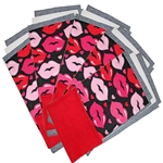 Lips Fleece Flippers Set of 5