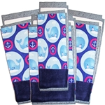 Whales Flippers Set of 3 and a Half