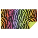 Picnic Awning in Rainbow Zebra