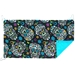 Picnic Awning in Sugar Skulls Black